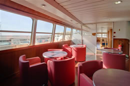 The One Day Cruise to Freeport, Bahamas, is as comfortable as it gets